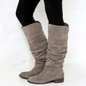 Very Volatile Pirata Suede Knee-High Boots